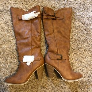 JustFab Boots Brand New!